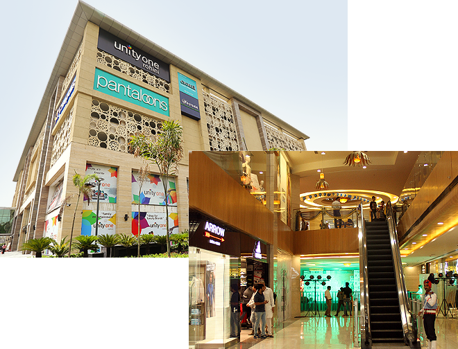 Commercial Property in Delhi – Rohini, Unity Group